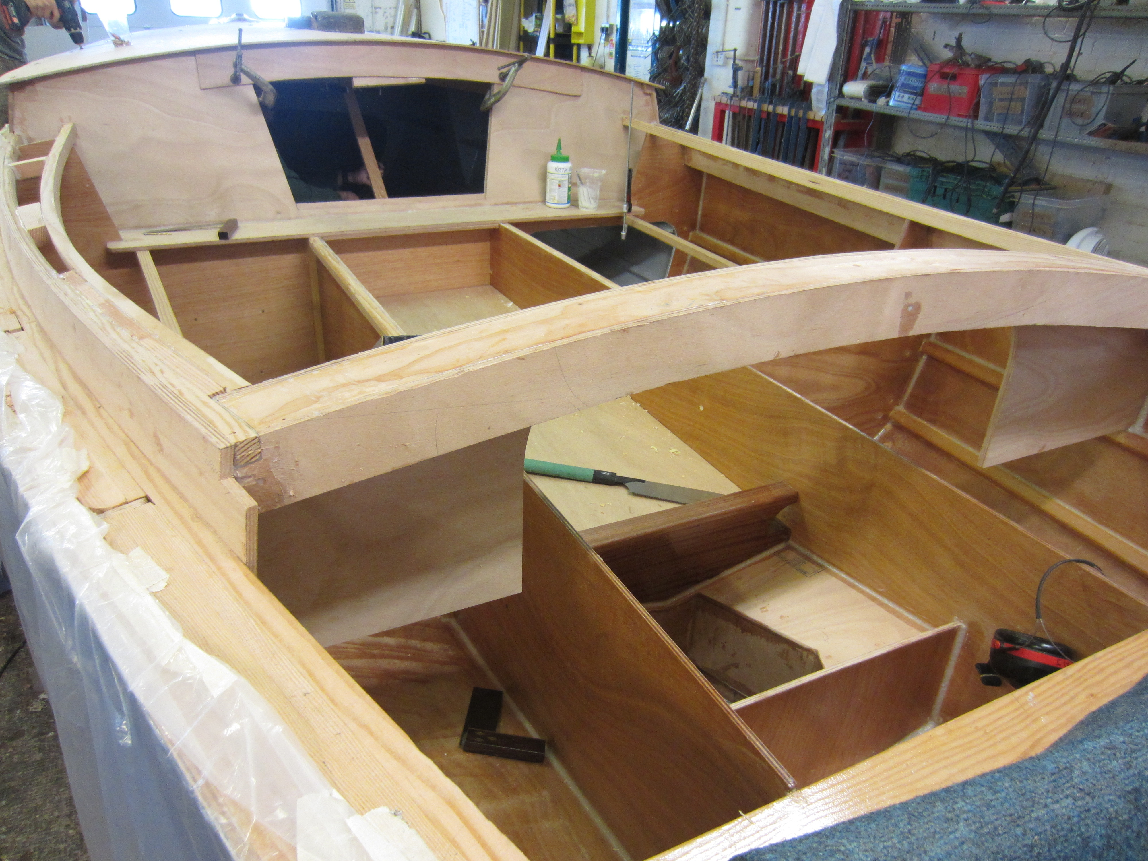 20' Golant Ketch - Keith McIlwain - Boat Building Academy