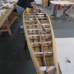wooden stand up paddle board build