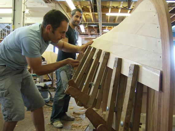 Clinker Building Products : Modern wooden boat building academy