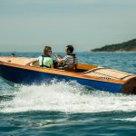 Launch Day - Class of August 2016 the Donzi speed boat crashes through a wave