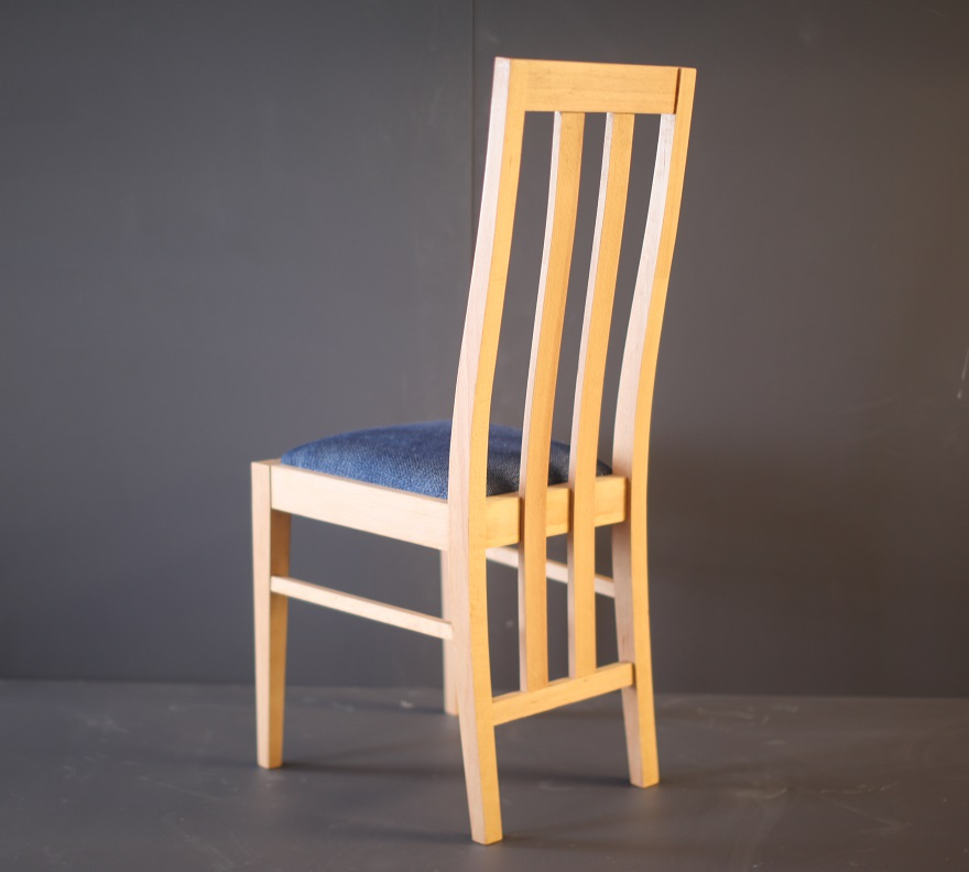 Dining room chairs by mark couldrick boat building academy for Build a dining room chair