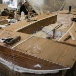 11' Moth Dinghy tiger elite plywood deck
