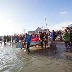 Class of February 2016 - Christmas Wherry getting carried down to the water