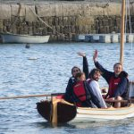 Class of February 2016 - Christmas Wherry setting sail on her maiden voyage out to sea